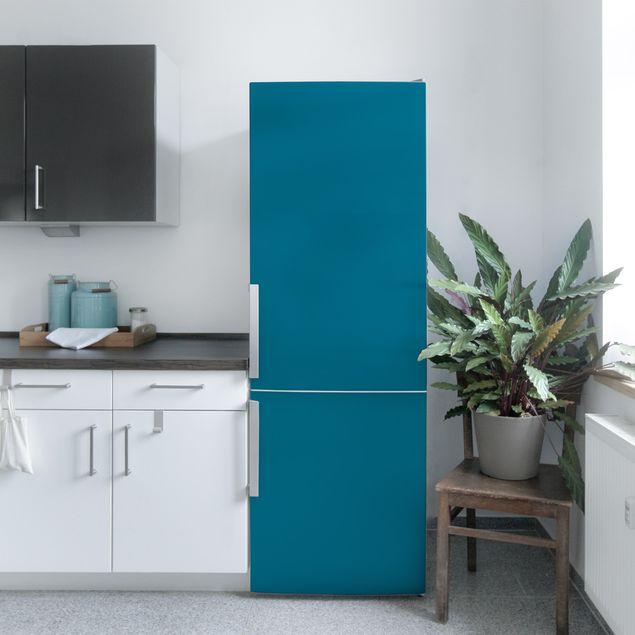 Möbelfolie Petrol einfarbig - Klebefolie Möbel türkis-blau dunkel - selbstklebend