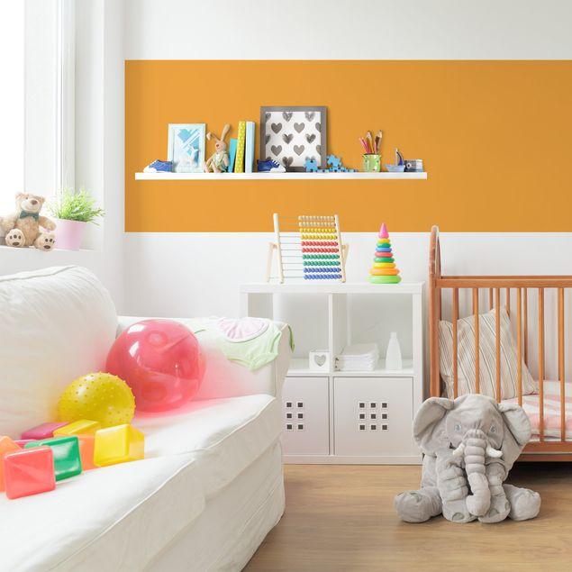 Möbelfolie gelb einfarbig - Mango - Klebefolie Möbel gelb-orange
