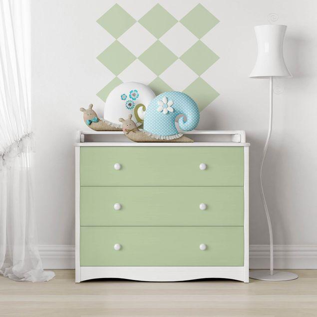 Möbelfolie mint einfarbig - Mintgrün - Klebefolie für Möbel menthol