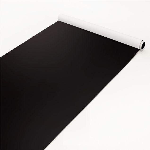 Möbelfolie schwarz einfarbig - Tiefschwarz - Klebefolie Möbel
