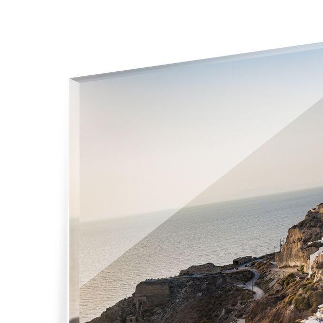 Spritzschutz Glas - Oia Panorama - Panorama 5:2