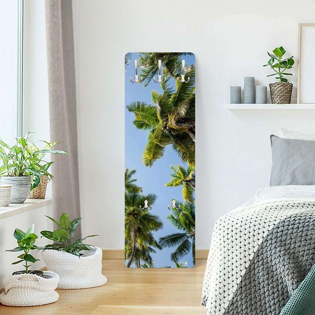 Garderobe - Palmen Himmel