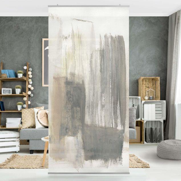 Raumteiler - Ein Hauch von Pastell I - 250x120cm