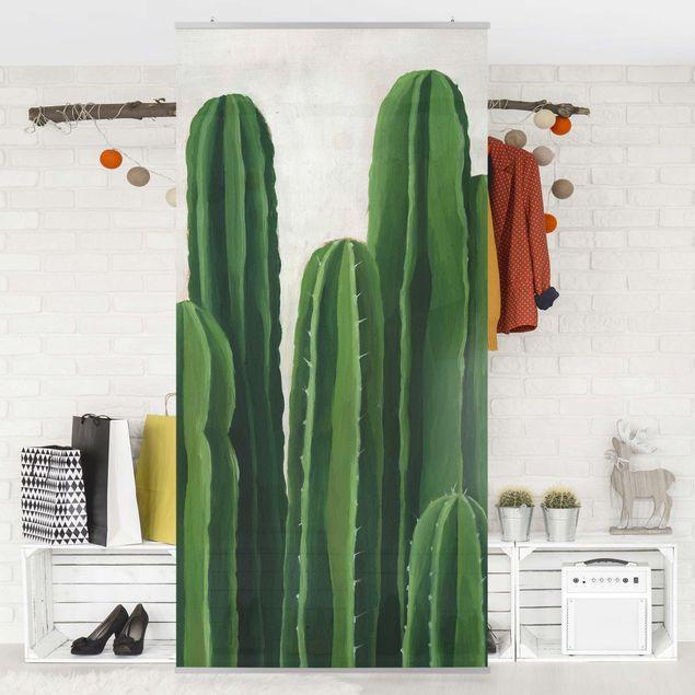 Raumteiler - Lieblingspflanzen - Kaktus - 250x120cm