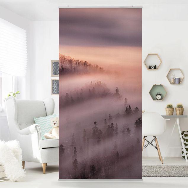 Raumteiler - Nebelflut - 250x120cm