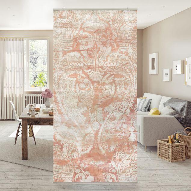 Raumteiler - Ornamentgewebe IV - 250x120cm