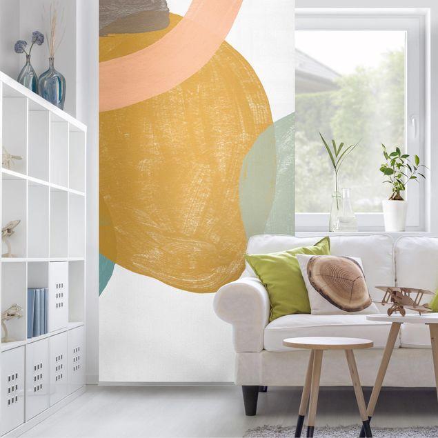 Raumteiler - Pailletten im Detail I - 250x120cm