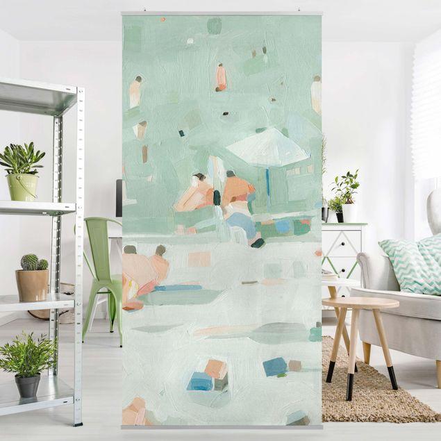 Raumteiler - Sommer Konfetti I - 250x120cm