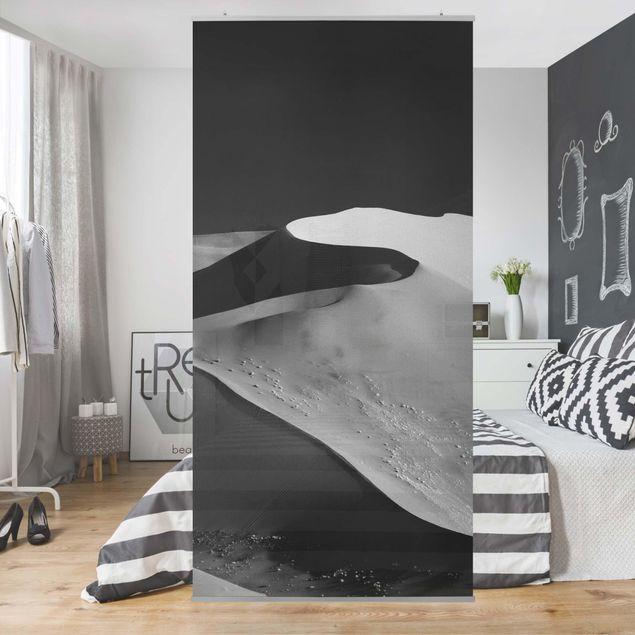 Raumteiler - Wüste - Abstrakte Dünen - 250x120cm