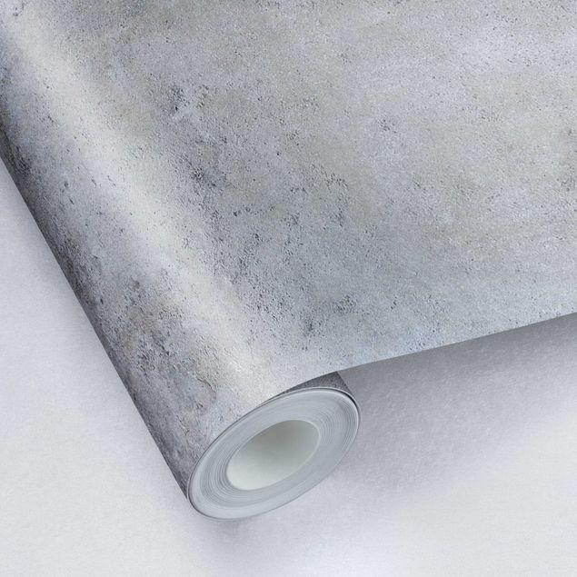 Metallic Tapete  - Shabby Betonoptik