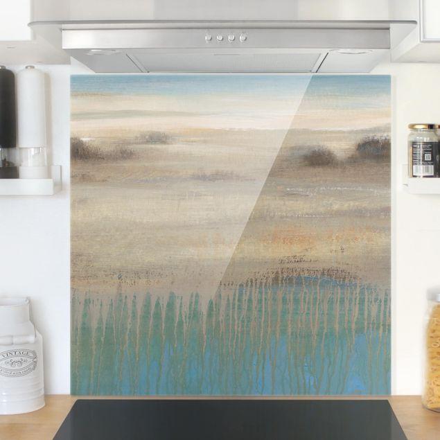 Spritzschutz Glas - Bestimmungsort - Quadrat 1:1