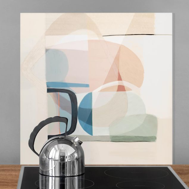 Spritzschutz Glas - Multiform III - Quadrat 1:1