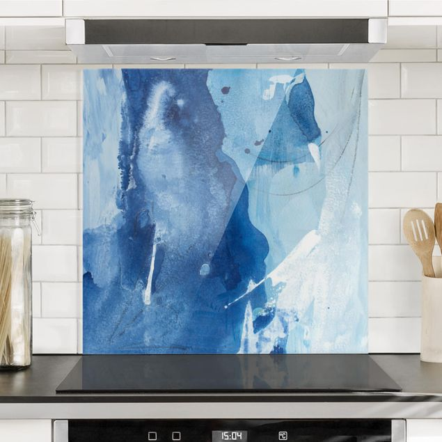 Spritzschutz Glas - Nordküste I - Quadrat 1:1