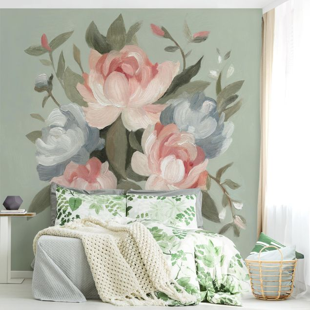 Fototapete - Bouquet in Pastell I