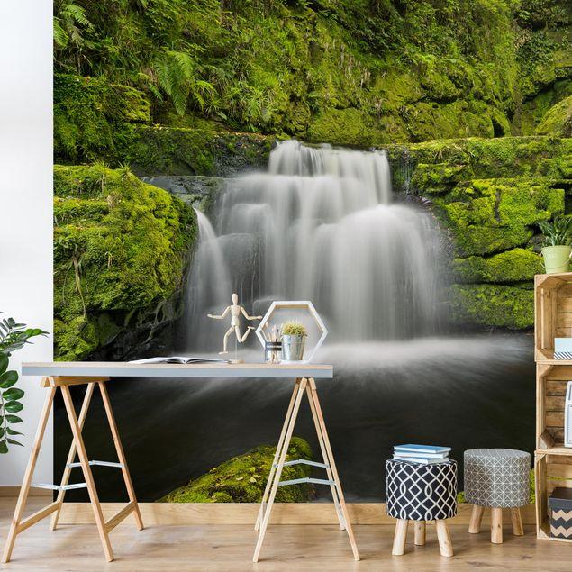 Fototapete - Lower McLean Falls in Neuseeland