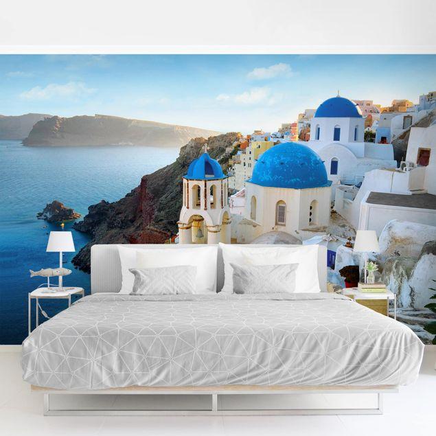 Fototapete - Santorini