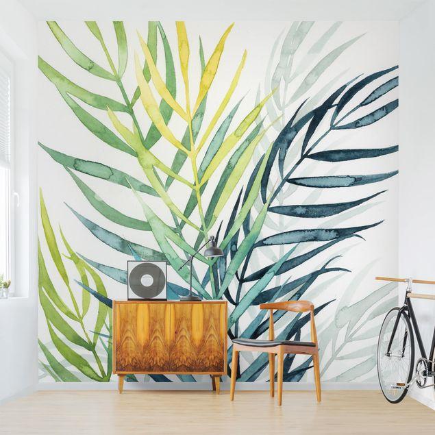 Fototapete - Tropisches Blattwerk - Palme