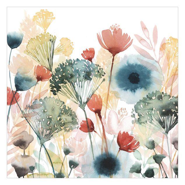 Fototapete - Wildblumen im Sommer I
