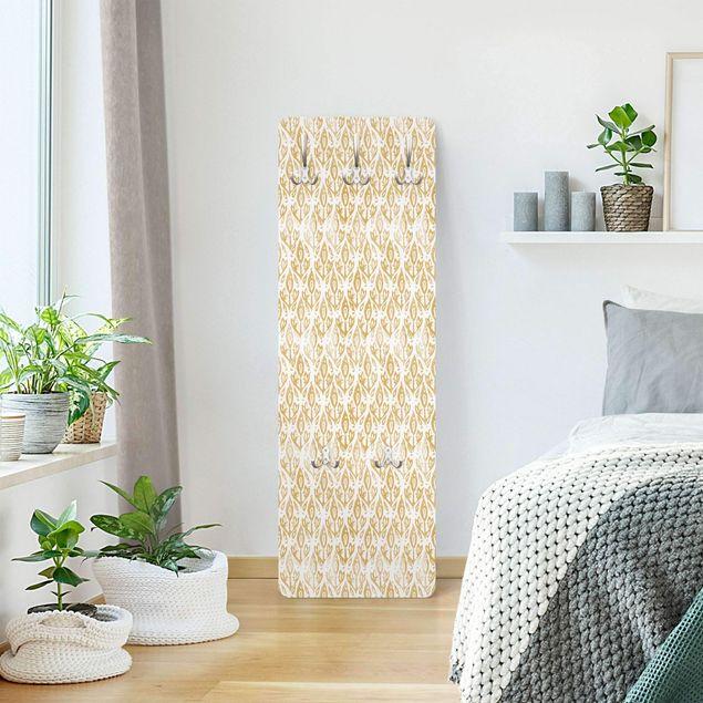 Garderobe - Vintage Muster Filigrane Pflanzen