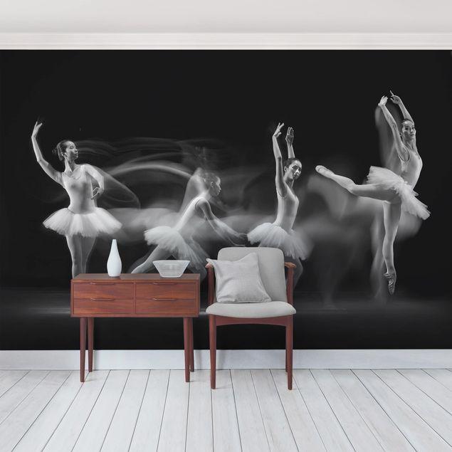 Fototapete Balerina Art Wave