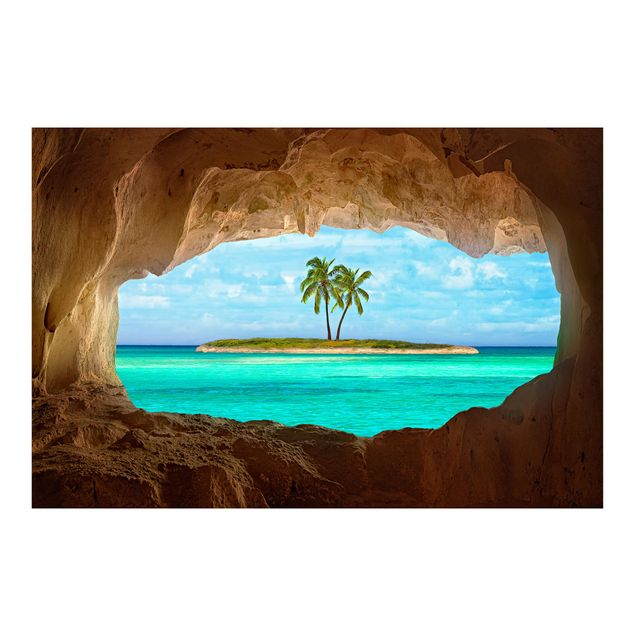 Fototapete Blick ins Paradies