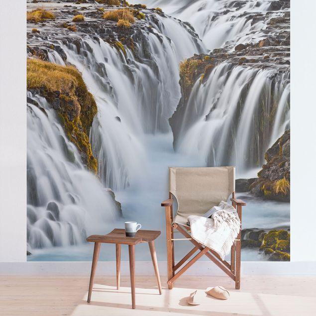 Fototapete Brúarfoss Wasserfall in Island
