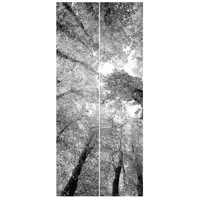 Türtapete - Bäume des Lebens II