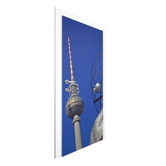 Türtapete - Berlin Alexanderplatz