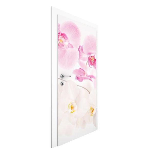Türtapete - Delicate Orchids