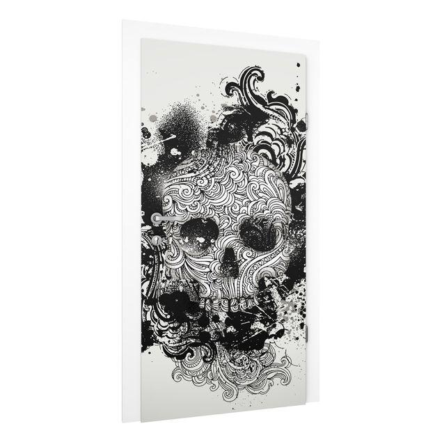 Türtapete - Skull