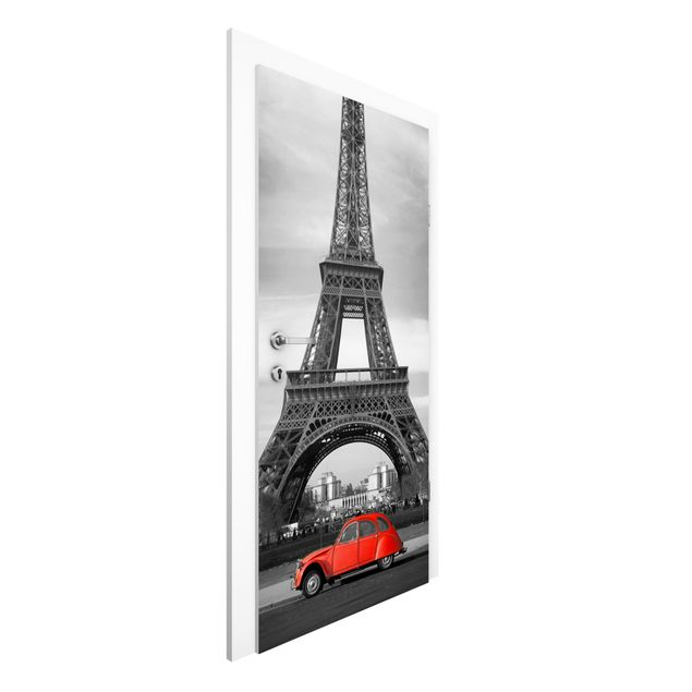 Türtapete - Spot on Paris