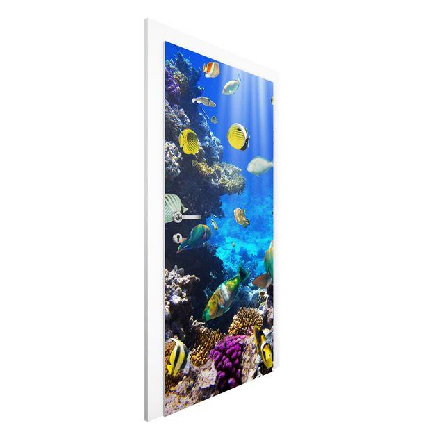 Türtapete - Underwater Dreams