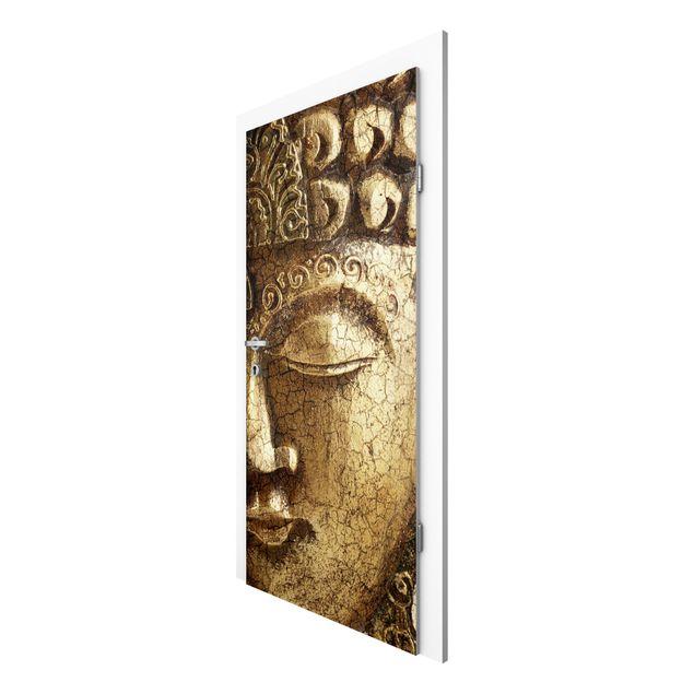 Türtapete - Vintage Buddha