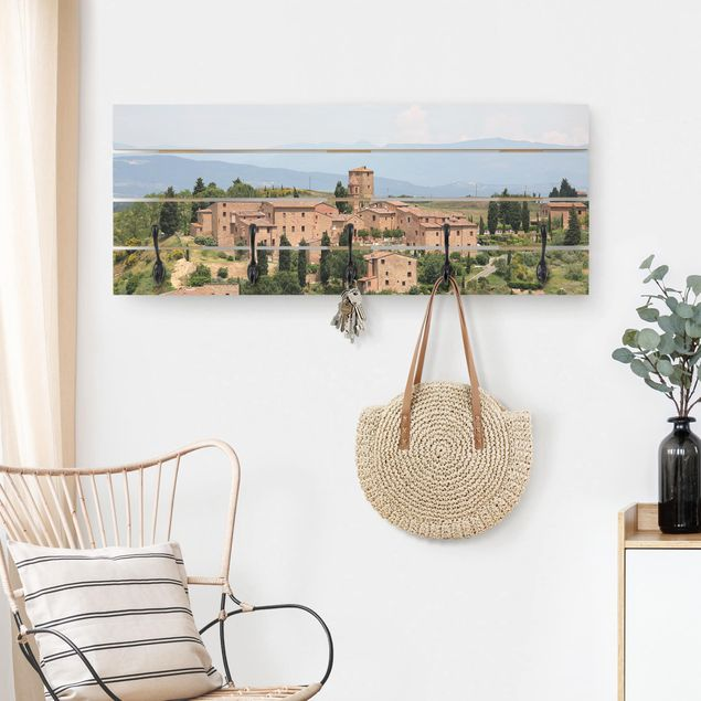 Wandgarderobe Holz - Charming Tuscany