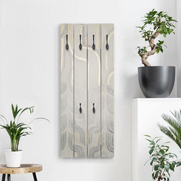 Wandgarderobe Holz - Chenille II