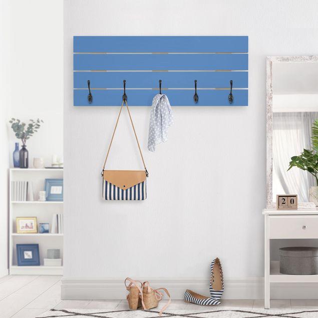 Wandgarderobe Holz - Colour Royal Blue