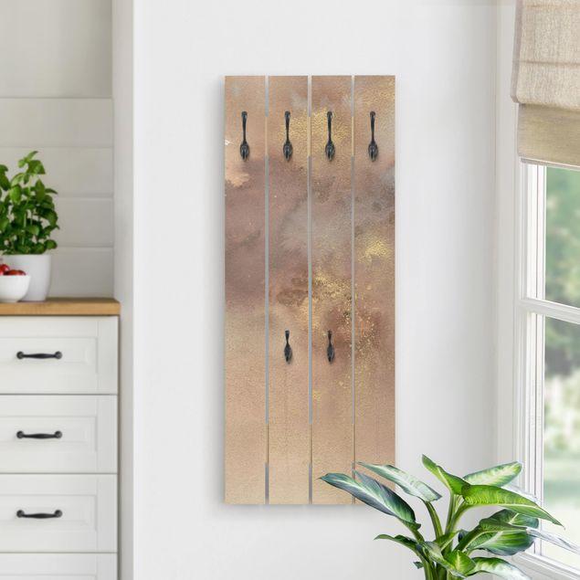 Wandgarderobe Holz - Himmelsträumerei I