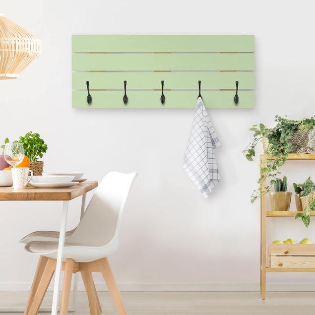 Wandgarderobe Holz - Mint