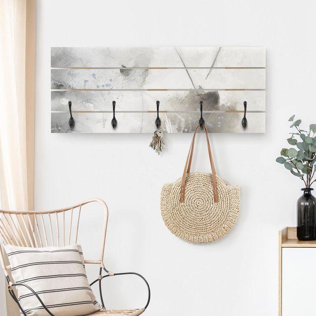 Wandgarderobe Holz - Mystische Objekte II