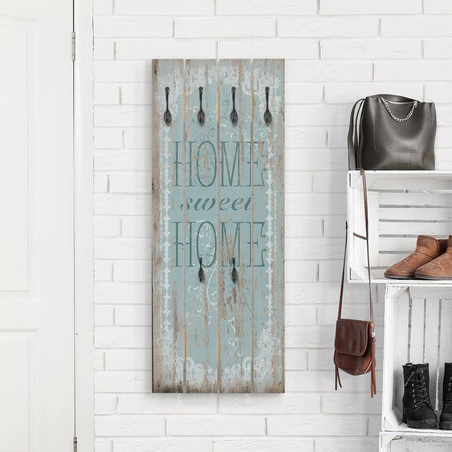 Wandgarderobe Holz - Sweet Home