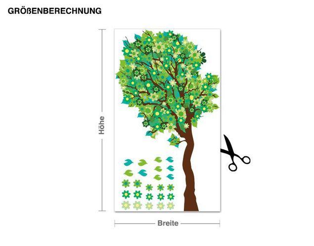 Wandsticker Blütenbaum