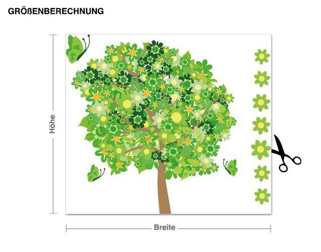 Wandsticker Blumenbaum 2
