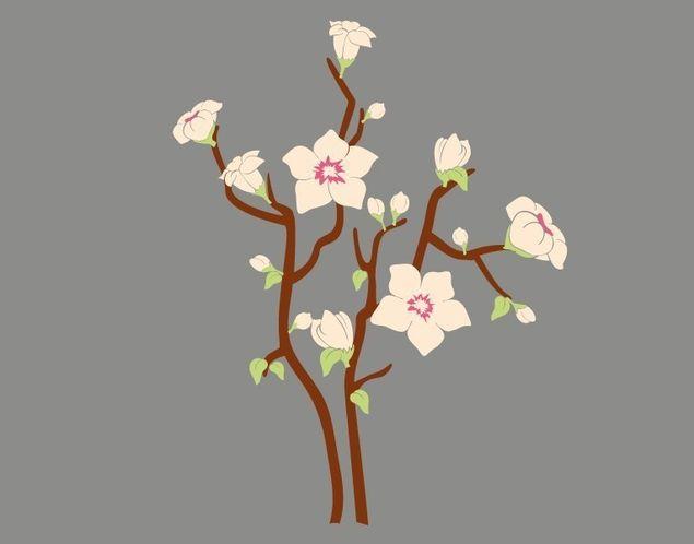 Wandsticker Blumentraum