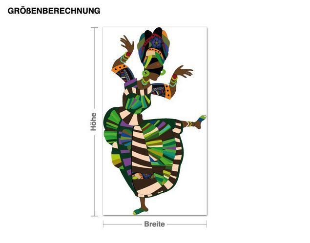 Wandsticker Ethnic Dance