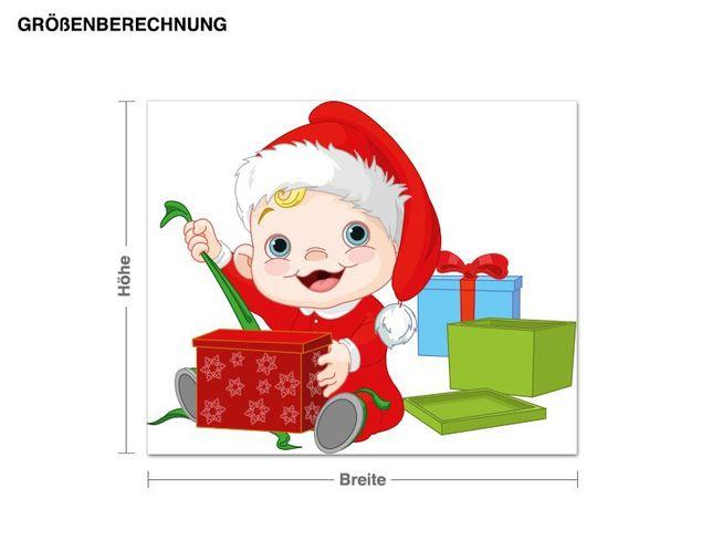 Wandsticker Fröhliches Baby