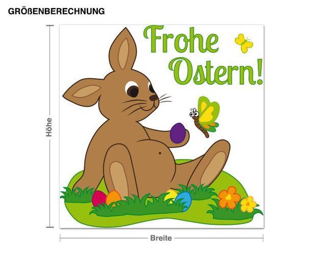 Wandsticker Frohe Ostern