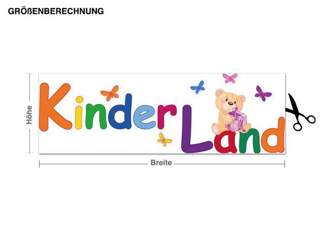Wandsticker Kinderland