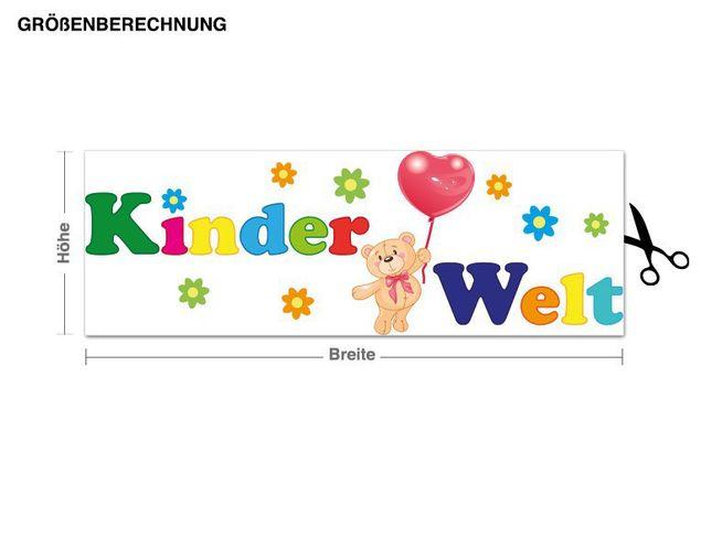 Wandsticker Kinderwelt