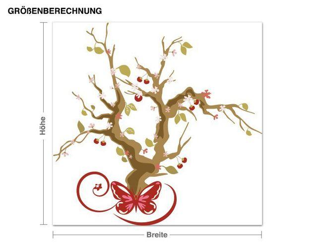 Wandsticker Kirschblütenbaum