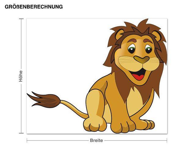 Wandsticker Kleiner Löwe